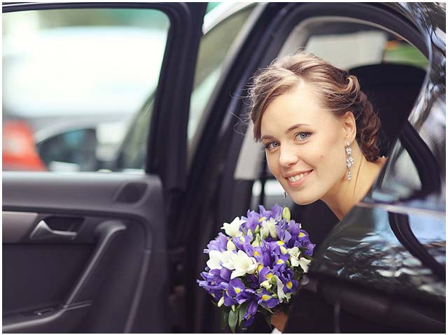 Car rental service with a chauffeur