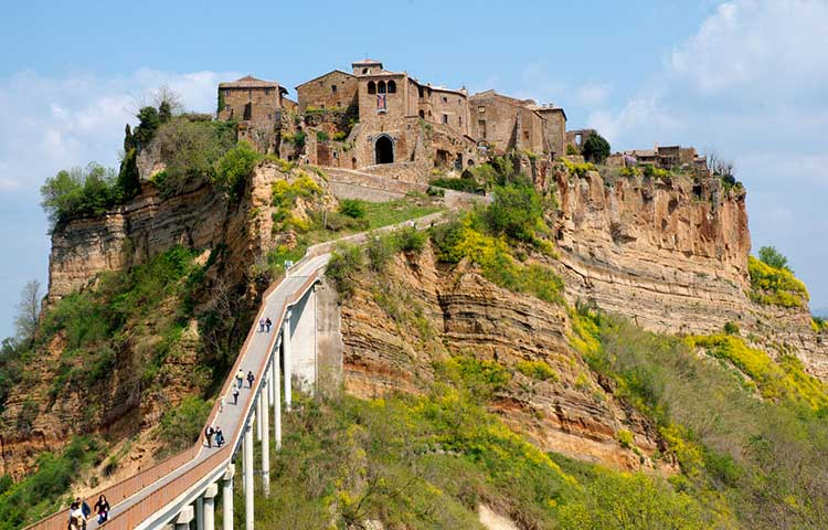 Tour Civita di Bagnoregio and Orvieto